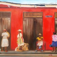 Meet Barbadian - Fine Art Creator, Marilda Weatherhead #NoCriticsJustArtist
