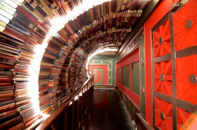 Meet Us At… 'The Last Bookstore' in @downtown_la #NoCriticsJustArtists @lastbookstorela