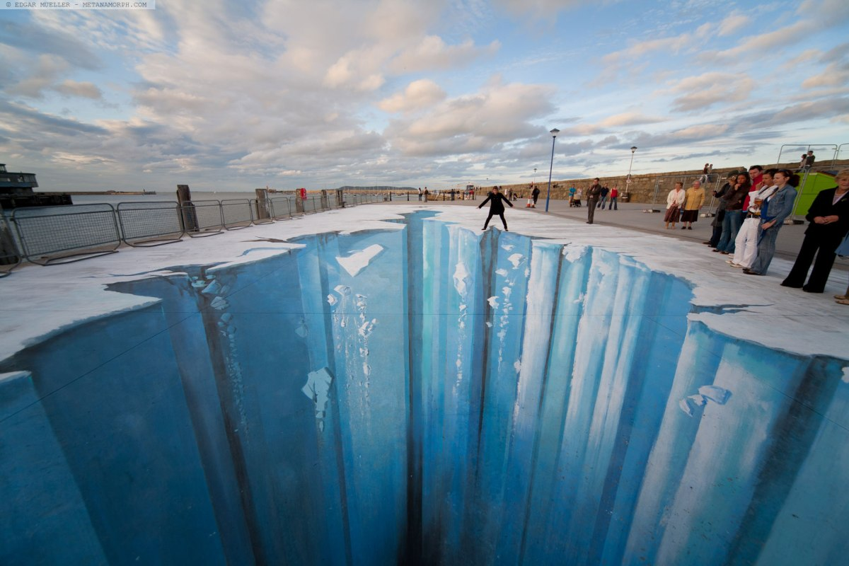 Meet German-3D Street Art Illusionist, Edgar Müller #NoCriticsJustArtists