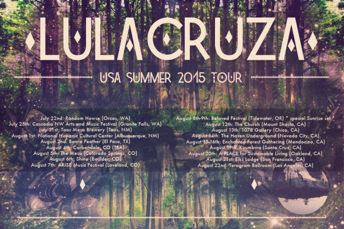 A NCJA Favorite: @LulaCruza Announces their 2015 U.S. Summer Tour #NoCriticsJustArtists