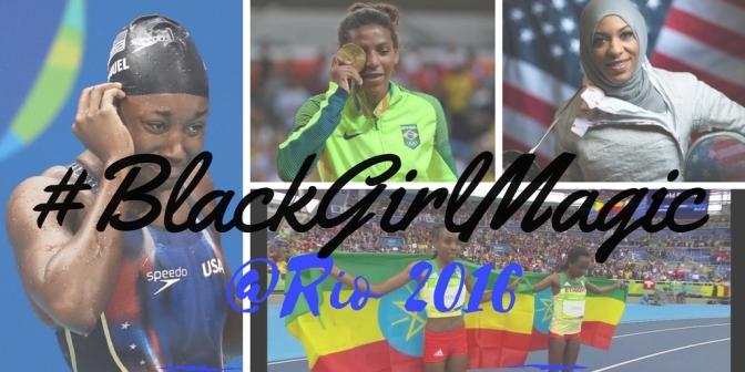 #Global #BlackGirlMagic @Rio2016 @Rio2016_EN #Rio2016 #NoCriticsJustArtists