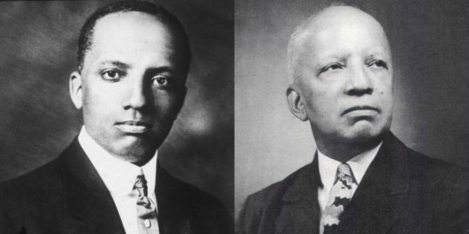 NCJA Game Changer Of The Month #African-American #historian #CarterWoodson #NoCriticsJustArtists