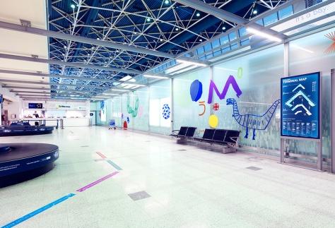 Helsinki Airport designed by Kokoro & Moi
