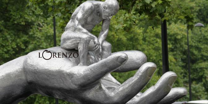 Meet NCJA #GameChanger of the Month: #Italian #Sculptor @ArtistLorenzo #NoCriticsJustArtists
