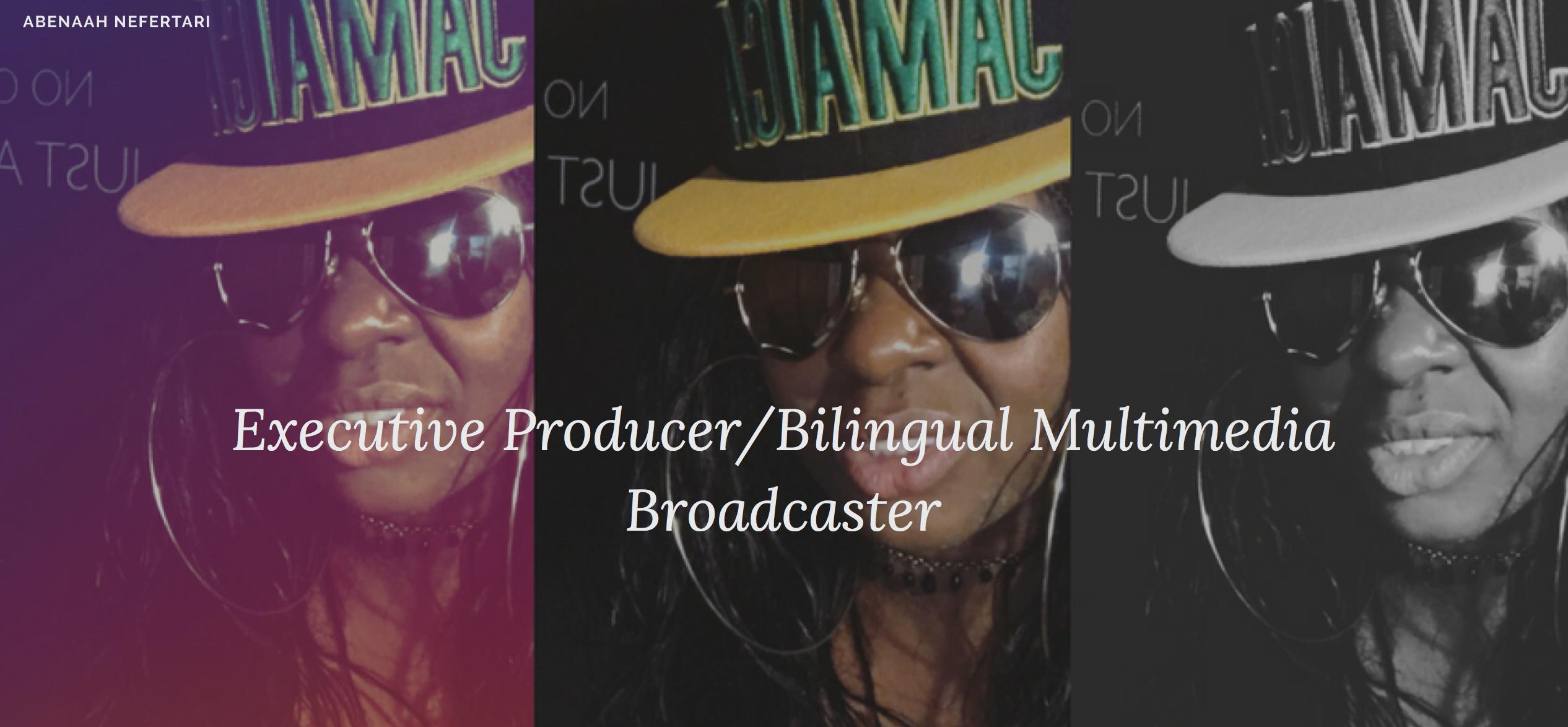 Meet Creator of No Critics @JustArtists , 🎬Executive Producer & Bilingual Multimedia Broadcaster📡www.AbenaahNefertariOfficial.com