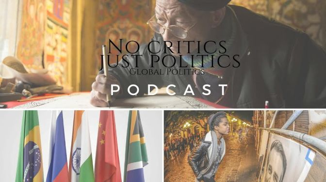 Check out the @No_Critics Just Politics #Podcast Episode 2 w/ #SharonElaineHill on #NoCriticsJustPolitics