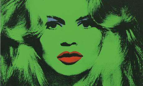 Brigitte Bard by Andy Warhol